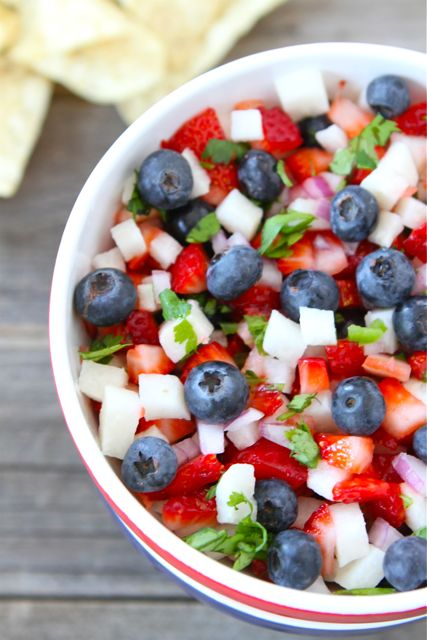 Blueberry-strawberry-jicima-salsa
